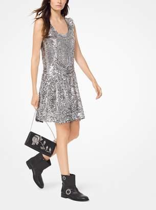 MICHAEL Michael Kors Sequined Slip Dress