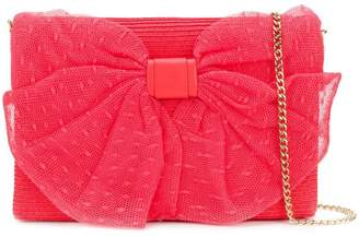 03a6b68c5f8e Red Valentino bow detail shoulder bag