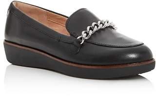 FitFlop Women's Petrina Platform Wedge Loafers