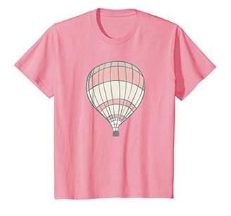 Fly London Cute Vintage Hot Air Balloon Art T-Shirt | Away S500180