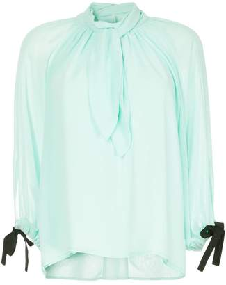 Eudon Choi draped front blouse