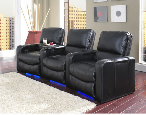 Row One Polaris Home Theater Recliner Upholstery -