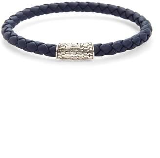 John Hardy 'Classic Chain' Woven Leather Bracelet