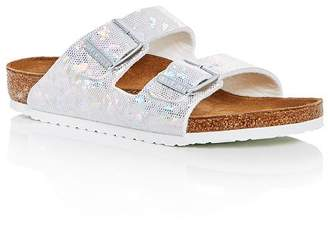 9fa75ad30ff8 Birkenstock Girls  Arizona Hologram Slide Sandals - Toddler