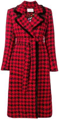 Giuseppe Di Morabito patterned midi coat