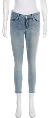 Mother Mid-Rise Cropped Jeans