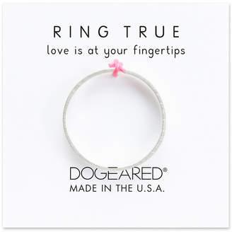 Dogeared Ring True Silver Ring