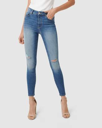 Forever New Zoe Mid-Rise Ankle Grazer Jeans