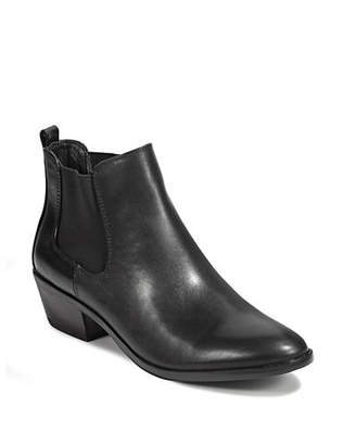 Sam Edelman Pauline Zip Chelsea Leather Booties