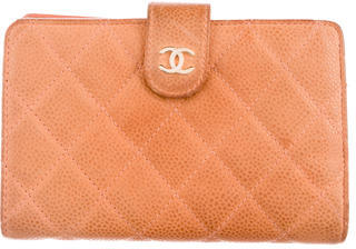 Chanel Chanel Caviar Quilted Wallet