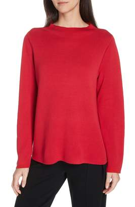 Eileen Fisher Reversilble Silk Blend Sweater