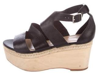 Loeffler Randall Platform Wedge Sandals