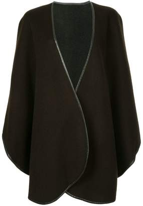 Sofia Cashmere draped cape