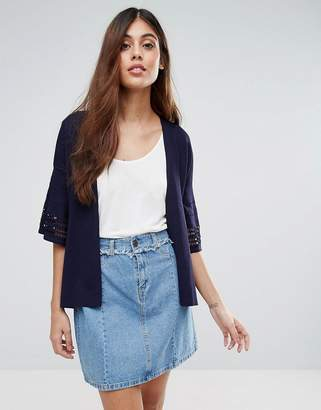 Warehouse Short Sleeve Cardigan