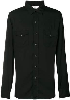 Saint Laurent Western long-sleeve shirt