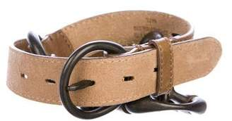 AllSaints Leather Waist Belt