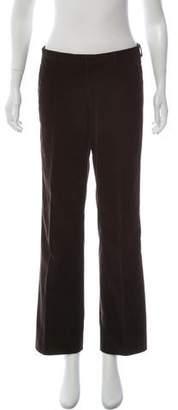 Miu Miu Mid-Rise Corduroy Pants