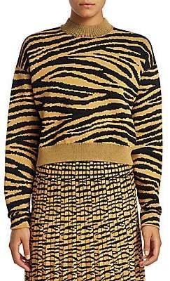 Women's Tiger Jacquard Sweater