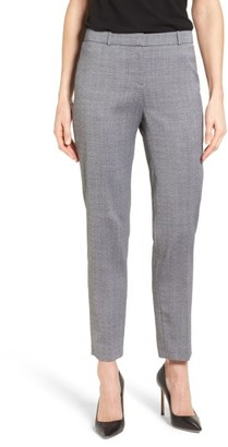 Women's Boss Tiluna Slim Wool Ankle Trousers $285 thestylecure.com