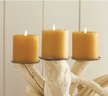 Viva Terra Beeswax Candles