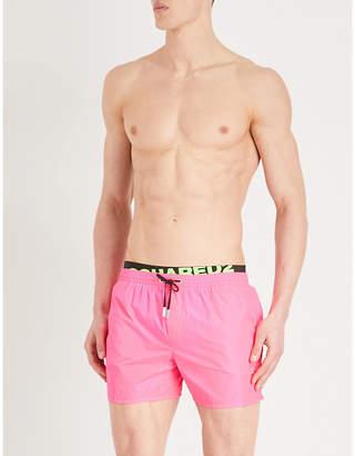 DSQUARED2 Logo-waistband swim shorts