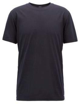 BOSS Hugo Travel Line T-shirt in Italian virgin wool M Open Blue