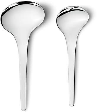 Georg Jensen Living Bloom Serving Spoons (Set of 2)