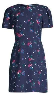 Draper James Bouquet Dot Short Dress