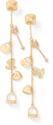 Ralph Lauren Gold-Plated Charm Earrings