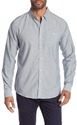 Ezekiel Lawndale Stripe Long Sleeve Regular Fit Shirt