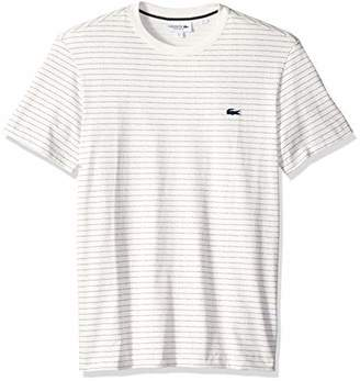 Lacoste Men's Short Sleeve REG FIT Blue Pack Dotted TEE