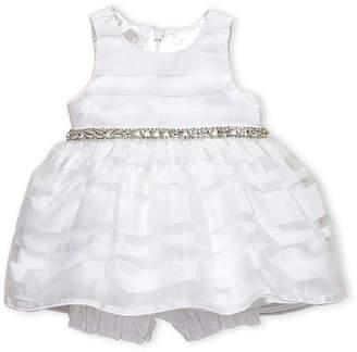American Princess (Newborn Girls) Two-Piece Striped Tank Dress & Bloomers Set