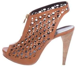 Pierre Hardy Laser Cut Leather Sandals