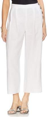 Vince Camuto Wide Leg Crop Linen Pants