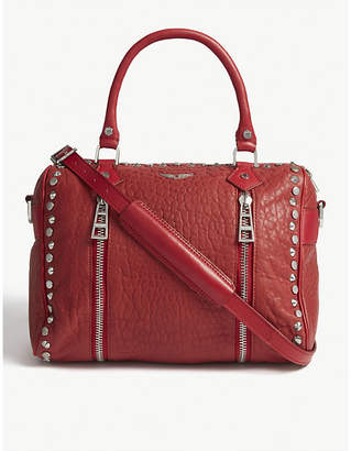Zadig & Voltaire Sunny leather small bowling bag