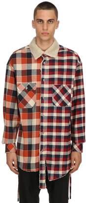 Facetasm Cotton Plaid Shirt