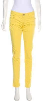 Harmont & Blaine Mid-Rise Skinny Pants