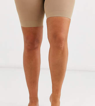 Pretty Polly curve sheer anti chaffing cooling short in beige