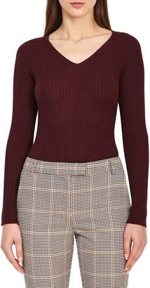 Reiss Elouise Ribbed Sweater