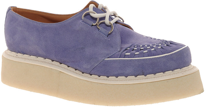 Asos REVIVE RIDDLE Suede Brothel Creepers