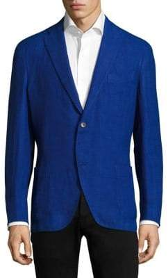 Boglioli Basket Weave Wool Jacket