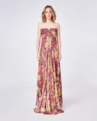 Nicole Miller Abstract Sequin Angelina Gown