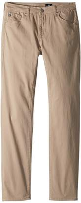 AG Adriano Goldschmied Kids The Stryker Luxe Slim Straight Sueded Twill in Beach Nut Boy's Jeans