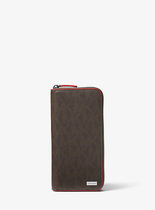 Michael Kors Jet Set Logo Zip-Around Wallet