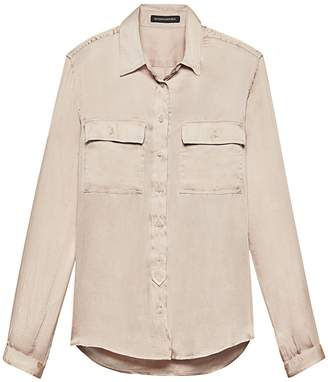 Banana Republic Dillon Classic-Fit Soft Utility Shirt
