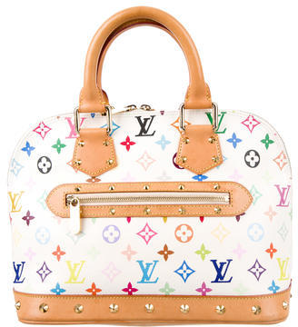 Louis Vuitton Louis Vuitton Multicolore Alma PM