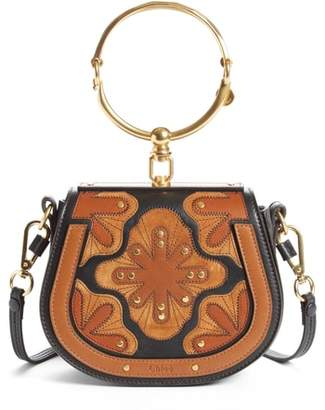 Chloé Small Nile Calfskin Leather Bracelet Bag