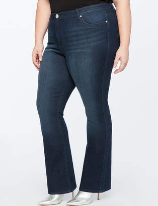 ELOQUII Slim Bootcut Jean