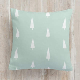 Woodland - Trees Square Pillow