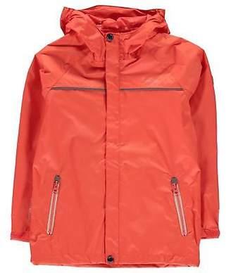 Regatta Kids Girls Disguize Jacket Junior Waterproof Coat Top Long Sleeve Chin